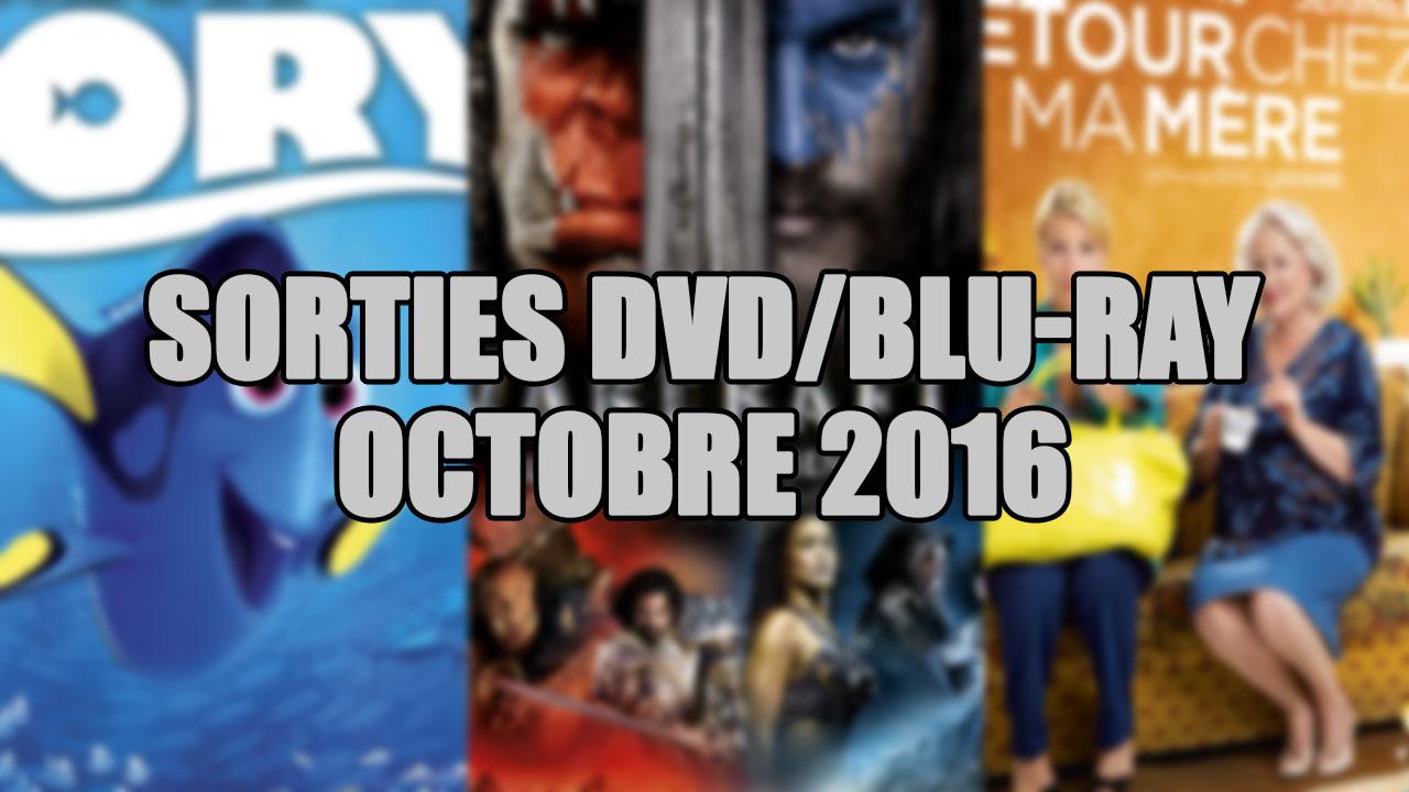 les sorties dvd blu ray du mois d 39 octobre 2016 cin ma total gamer. Black Bedroom Furniture Sets. Home Design Ideas