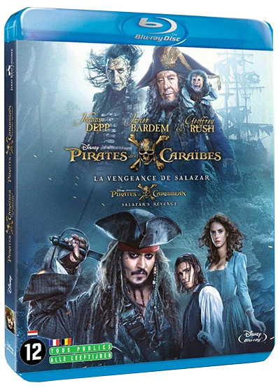 pirates des caraibes la vengeance de salazar bluray 54be3