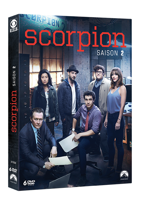 scorpion saison 2 dvd copie ff3be