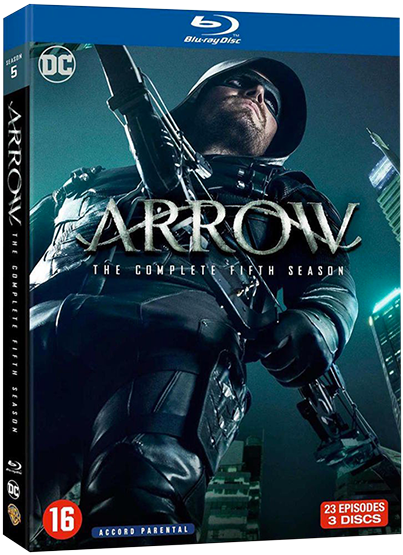 arrow saison 5 bluray 819a0