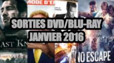 Les sorties DVD/Blu-Ray du mois de Janvier 2016 - Cinéma