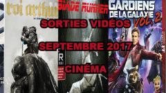 Les sorties DVD/Blu-Ray du mois de septembre 2017 - Cinéma