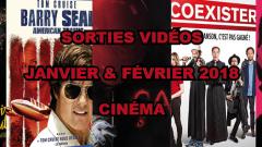 Les sorties DVD/Blu-Ray des mois de janvier et février 2018 - Cinéma