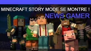Minecraft Story Mode se dévoile ! - News Gamer #191