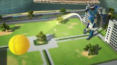 100ft Robot Golf : Un trailer de lancement très animé