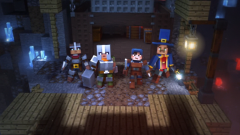 Minecraft Dungeons : Deux nouvelles vidéos