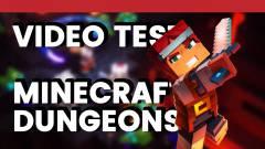 Vidéo Test : Minecraft Dungeons