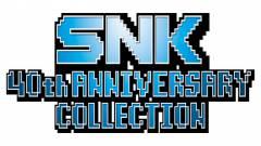 SNK 40th Anniversary Collection : Revivez à l'heure de l'arcade