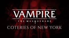 Vampire The Masquerade Coteries of New York : Un jeu pour cette année