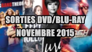 Les sorties DVD/Blu-Ray du mois de Novembre 2015 - Séries TV