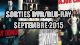 Les sorties DVD/Blu-Ray du mois de Septembre 2015 - Séries TV