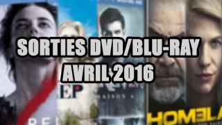 Les sorties DVD/Blu-Ray du mois de Avril 2016 - Séries TV