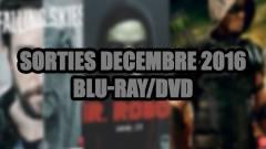 Les sorties DVD/Blu-Ray du mois de décembre 2016 - Séries TV