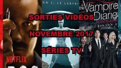 Les sorties DVD/Blu-Ray du mois de novembre 2017 - Séries TV