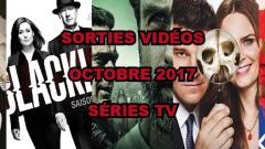 Les sorties DVD/Blu-Ray du mois de octobre 2017 - Séries TV