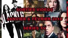 Les sorties DVD/Blu-Ray du mois de janvier et février 2018 - Séries TV